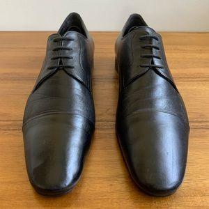Bruno Magli Cap Toe Leather Derby Mens Shoe Sz. 11